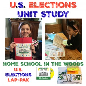 U. S. Elections Unit Study from Starts At Eight