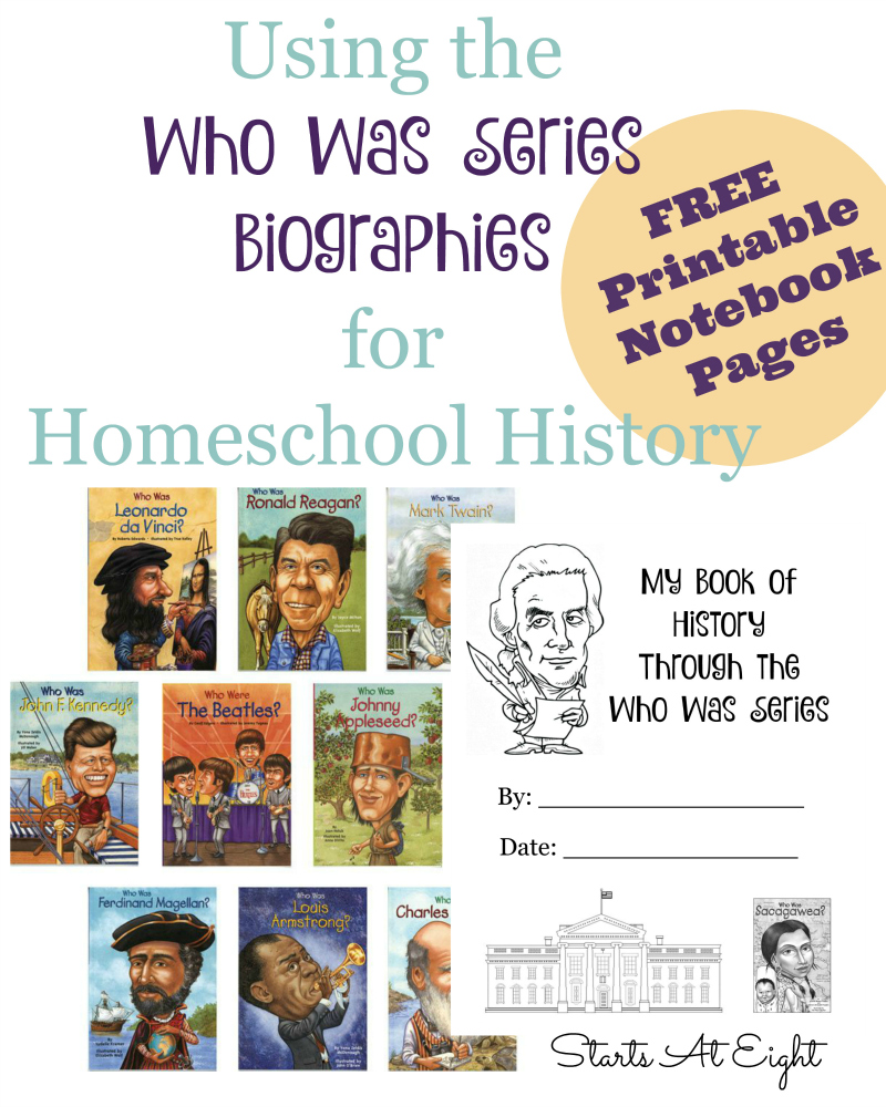 Biographies: Using The Who Was Series Biographies For Homeschool