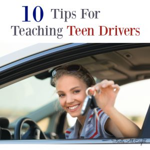 10 Tips For Teaching Teen Drivers from Starts At Eight