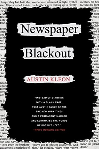 Newspaper Blackout Book