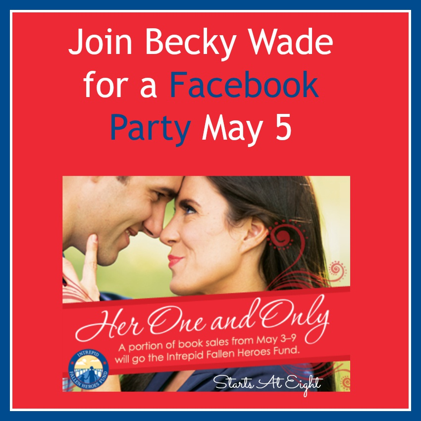 Join Becky Wade for a Facebook Party May 5