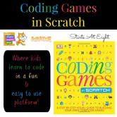 Coding Games in Scratch Book Review