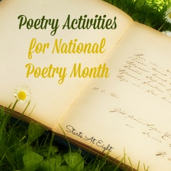 Poetry Activities for National Poetry Month