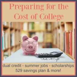 Preparing for the Cost of College {Plus College Fund Giveaway!}