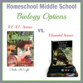 Homeschool Middle School Biology Options