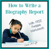 How to Write a Biography Report