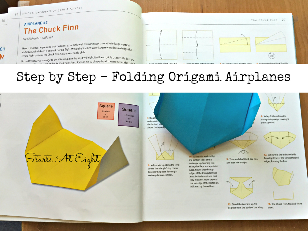 Homeschool Science Aerodynamics With Paper Airplanes
