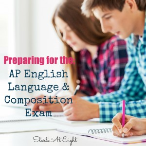 Preparing for the AP English Language & Composition Exam from Starts At Eight