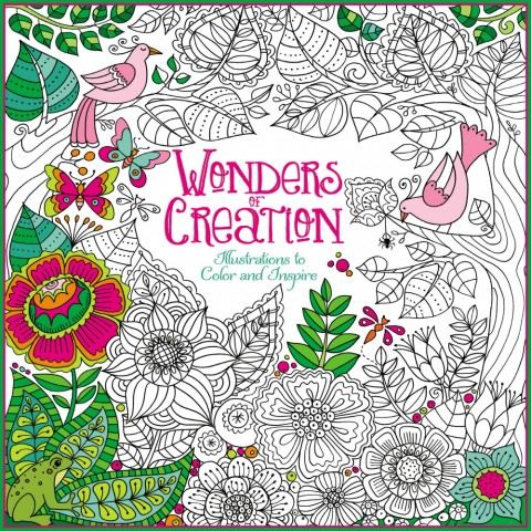 Wonders of Creation Adult Coloring Book
