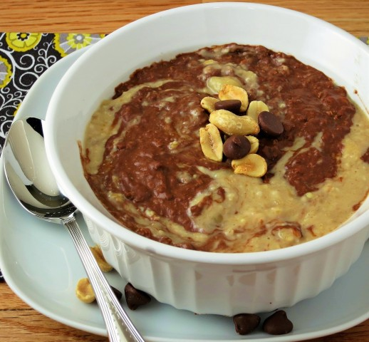 chocolate penut butter oatmeal