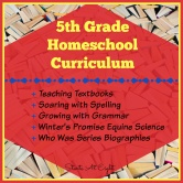 5th Grade Homeschool Curriculum