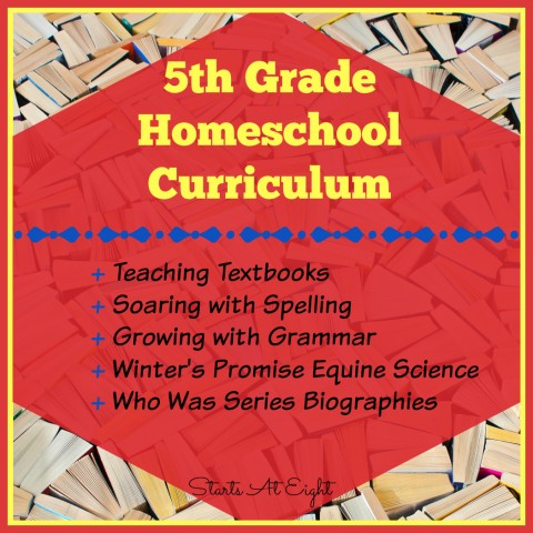 5th Grade Homeschool Curriculum from Starts At Eight