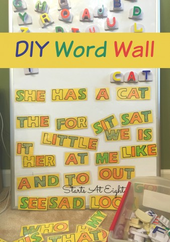 DIY Word Wall