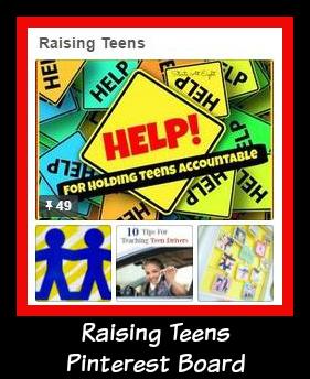 Raising Teens Pinterest Board
