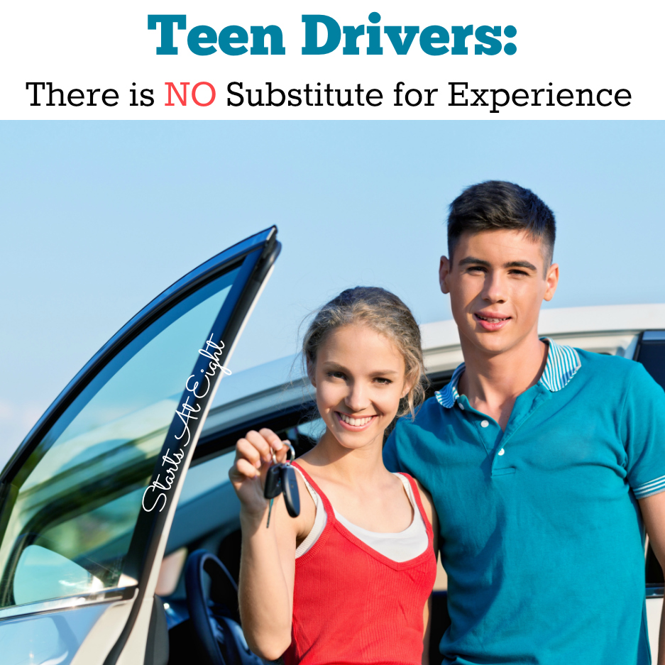 Teen Drivers: There is NO Substitute for Experience from Starts At Eight