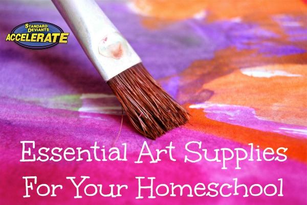 Essential-Art-Supplies-For-Your-Homeschool