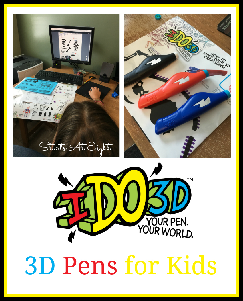 IDO 3D Pens for Kids from Starts At Eight