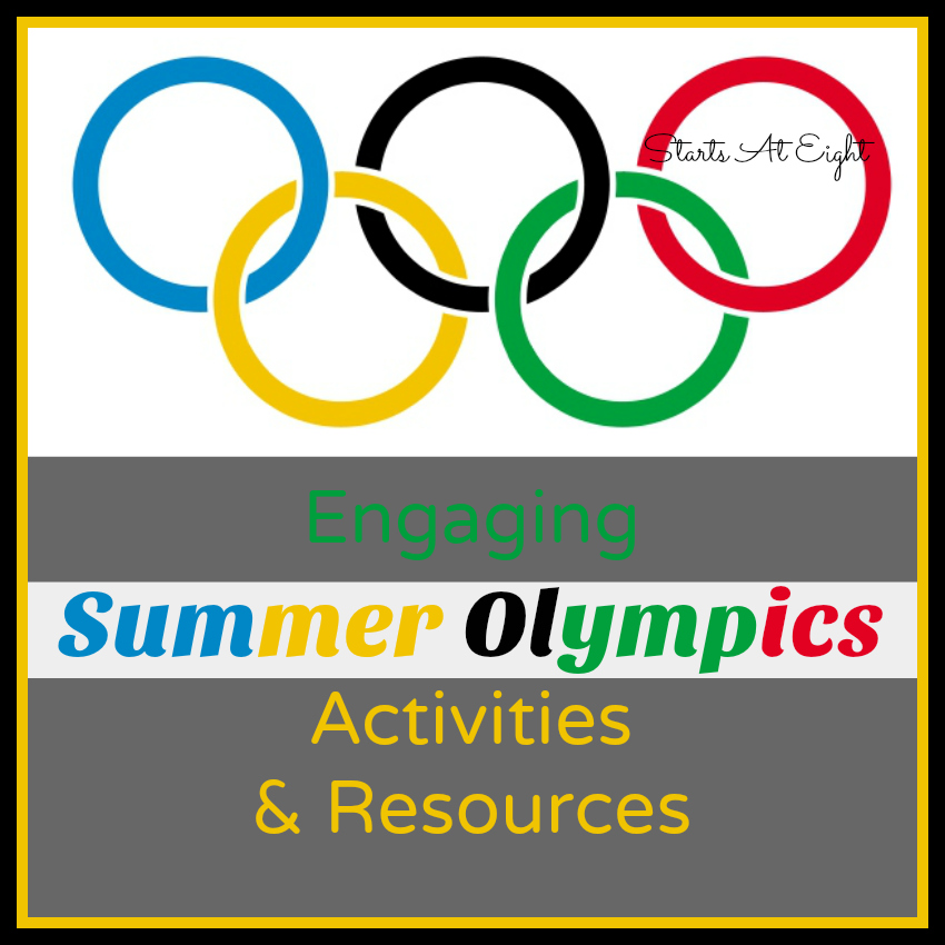 Engaging Summer Olympics Activities & Resources from Starts At Eight