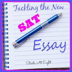 Tackling the New SAT Essay