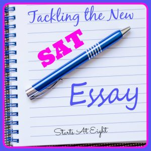 Tackling the New SAT Essay from Starts At Eight