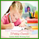 Teach Elementary Students with Writing Games
