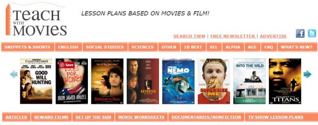 Teach with Movies Website