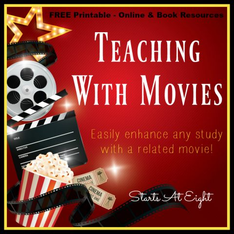 Teaching With Movies: Free Printable Online & Book Resources from Starts At Eight