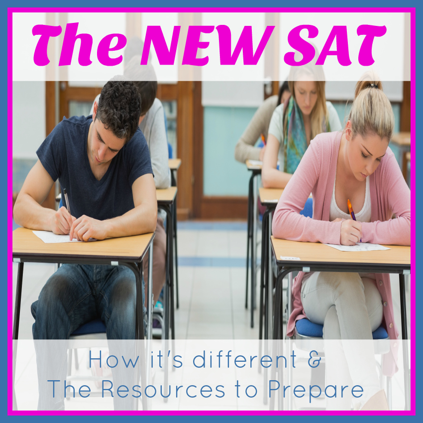 The NEW SAT - How it's different & The Resources to Prepare from Starts At Eight