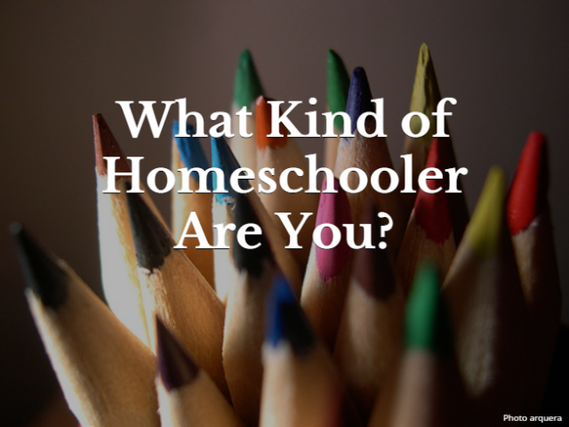 What Kind of Homeschooler Are You?