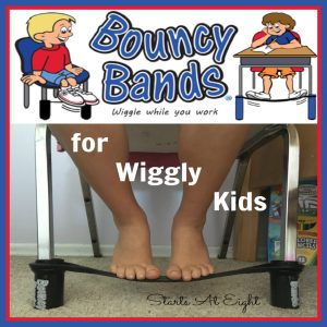 Bouncy Bands for Wiggly Kids