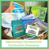 Elementary Homeschool Curriculum Giveaway
