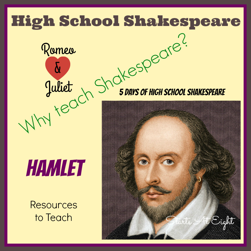 5 Days of High School Shakespeare from Starts At Eight