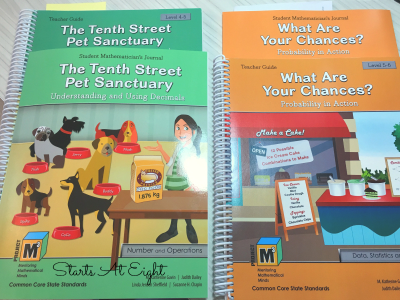 Kendall Hunt Gifted Math Books