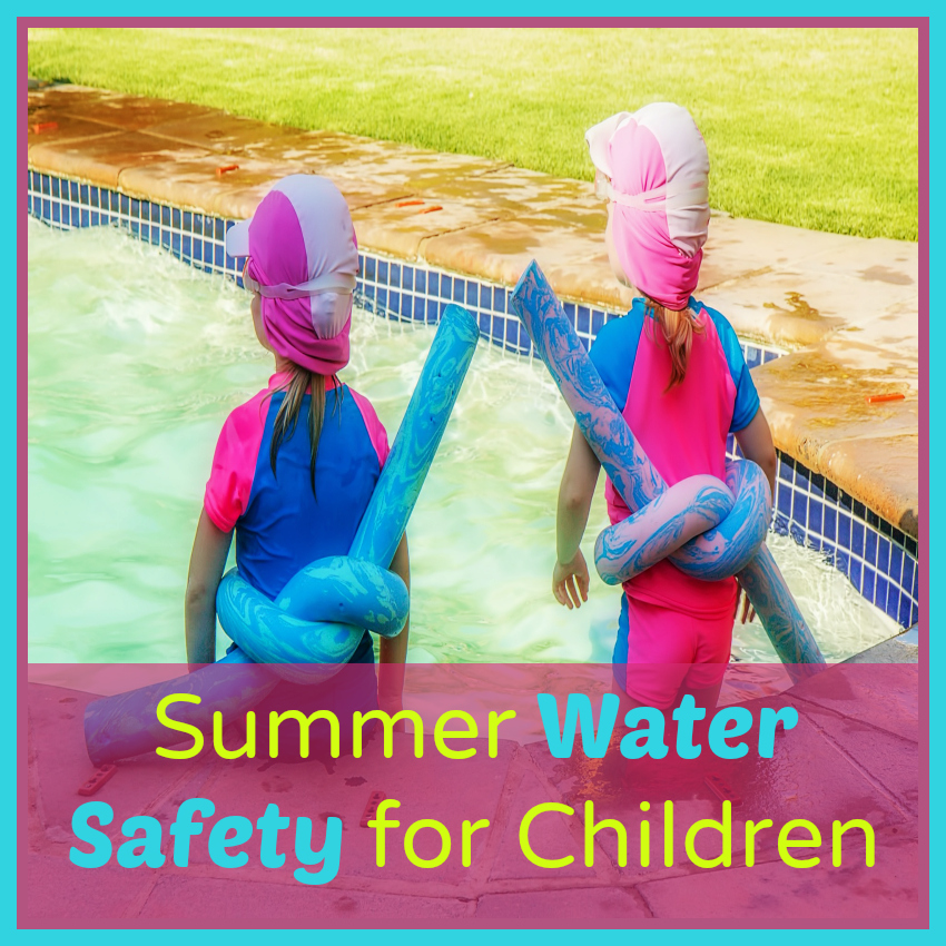 Summer Water Safety for Children from Starts At Eight