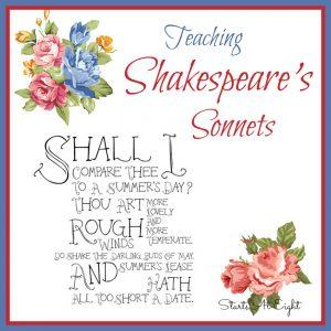 Teaching Shakespeare Sonnets