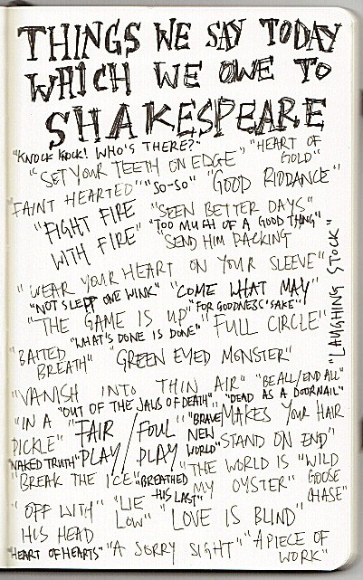 Shakesperean Sayings