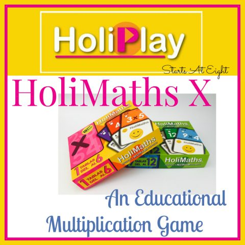 HoliMaths X - An Educational Multiplication Game from Starts At Eight
