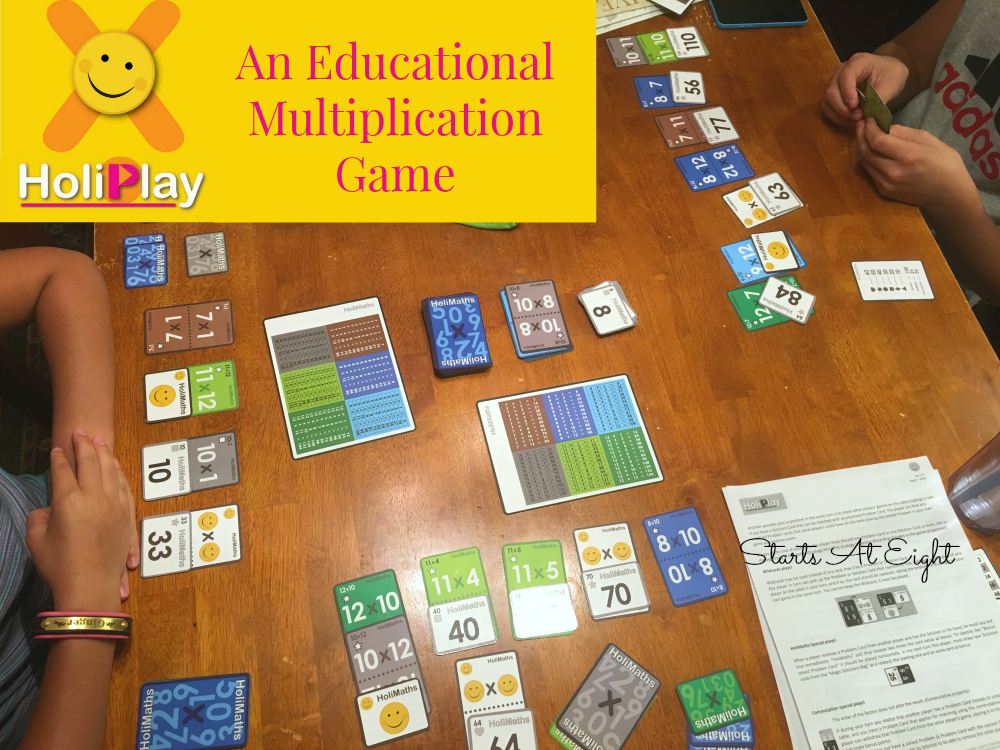 HoliMaths X Multiplication Game