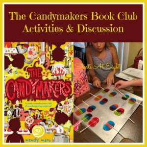 The Candymakers Book Club - Activities & Discussion from Starts At Eight