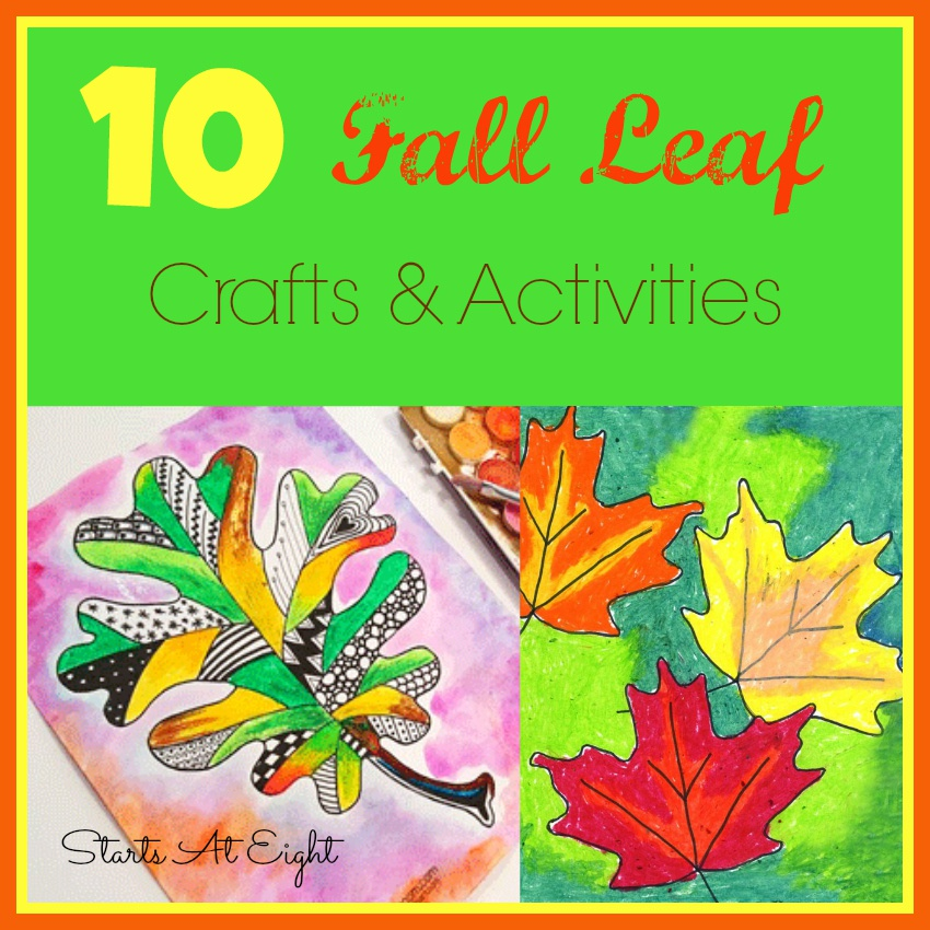 10 Fall Leaf Crafts & Activities