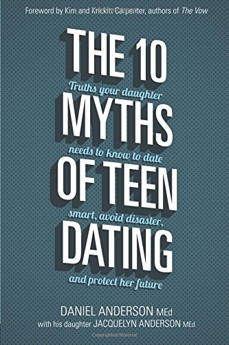 The 10 Myths of Teen Dating from Starts At Eight is a practical parenting book to help parents of teens navigate teen dating. Build a relationship with your teen, keep open communication, and check out these tips!