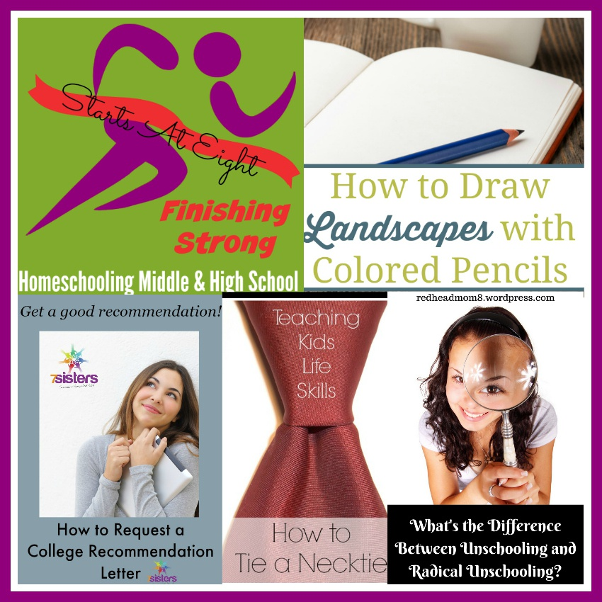 Finishing Strong ~ Homeschooling the Middle & High School Years #102