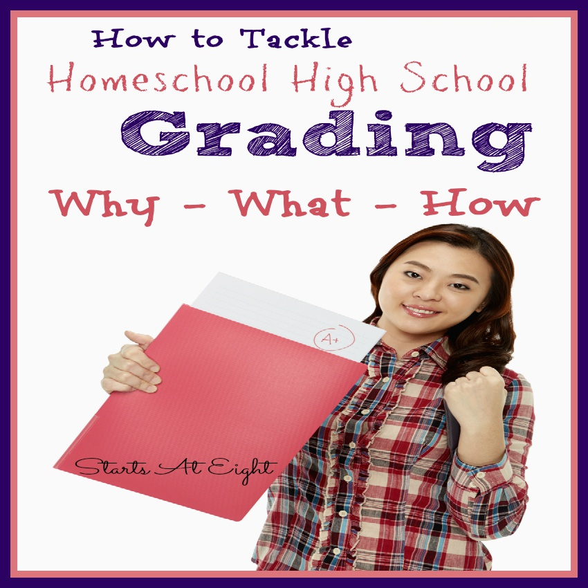How to Tackle Homeschool High School Grading