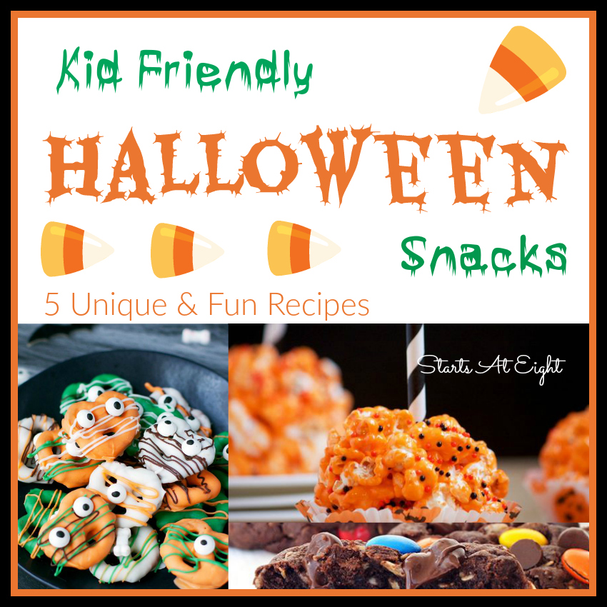 Kids are surrounded with loads of sweets around Halloween, so here are some healthy options that they will love! These ideas are a great way to get your kids to try new and healthy foods.