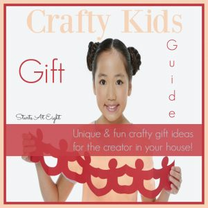 Crafty Kids Gift Guide – Unique Gifts for the Creator in your House!
