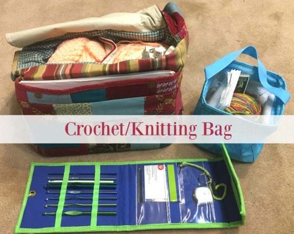 Crafty Kids Gift Guide - Crochet/Knitting Bag