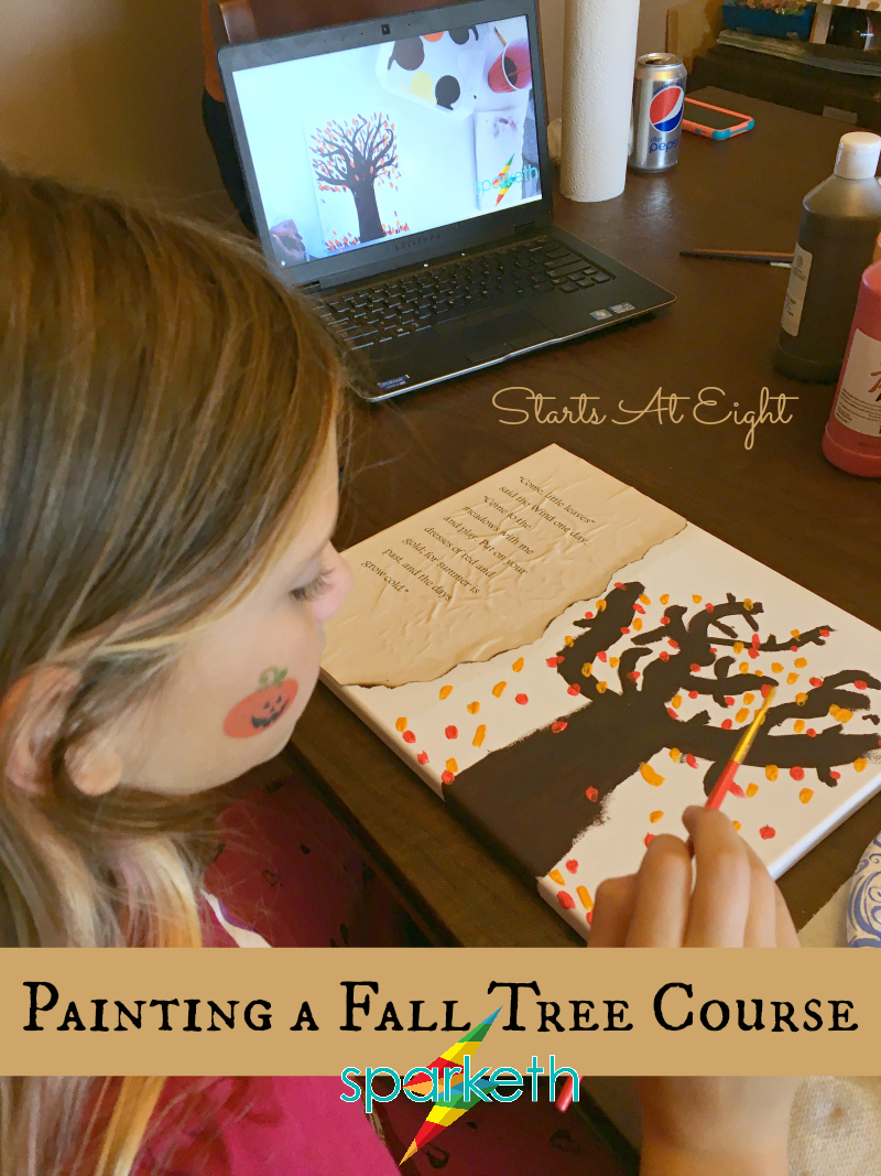 Painting a Fall Tree Course