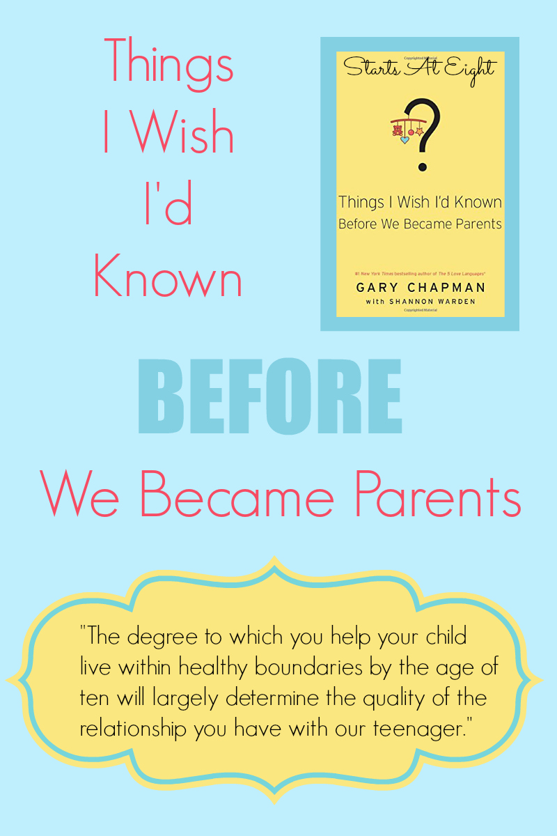 Things I Wish I'd Known Before We Became Parents from Starts At Eight. A practical guide for navigating some of the tough parenting moments you might not have thought of. A great parenting help for new and even more experienced parents!