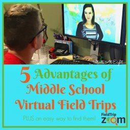 5 Advantages of Middle School Virtual Field Trips ~ PLUS an easy way to find them!