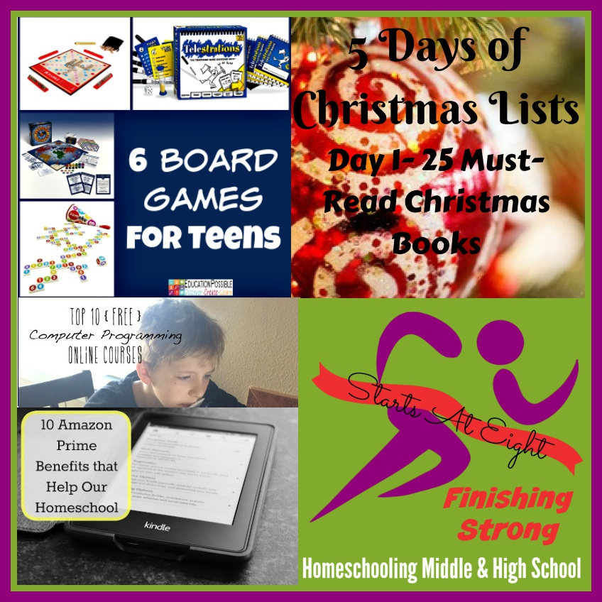 Finishing Strong ~ Homeschooling the Middle & High School Years #107